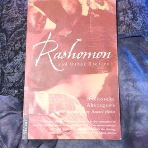 Paperback book, Rashomon & other stories 🖤